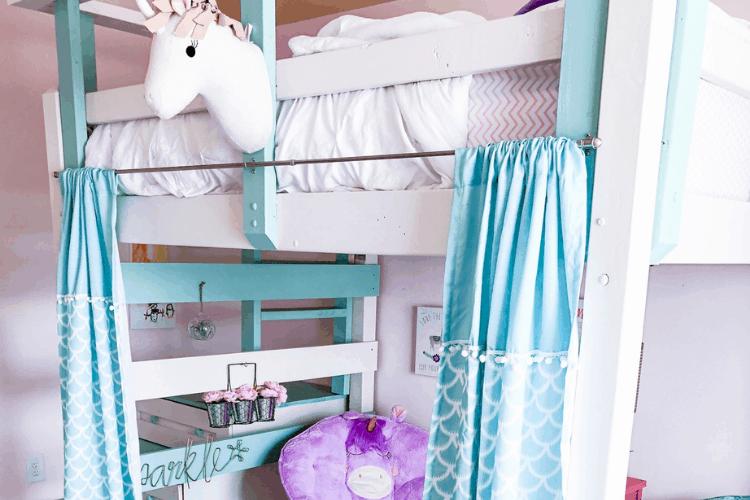 Fusion Mineral Paint Review – DIY Loft Bed