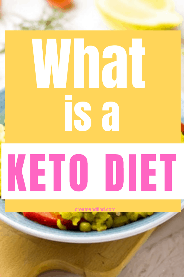 Everything you need to know about keto - what is a keto diet and what happens to your body on keto? #createandfind #ketodiet #ketoforbeginners #ketolifestyle