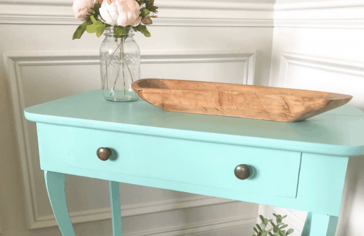 Antique Side Table Makeover