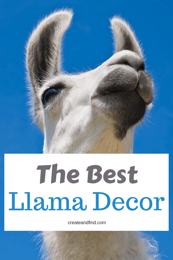 The Best LLama Decor #createandfind #llamadecor #unicorndecor