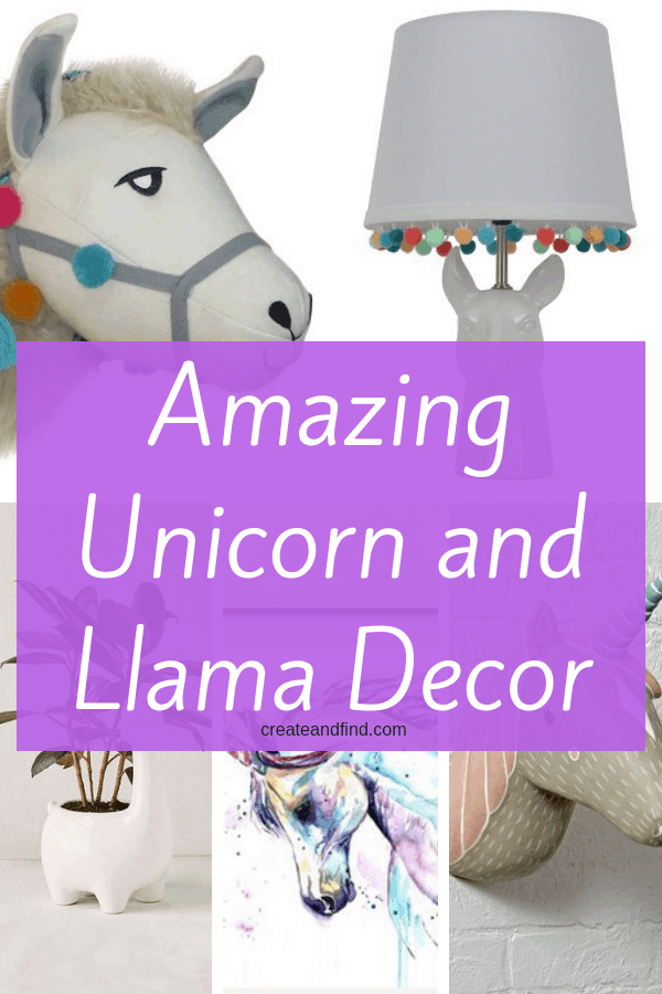 Amazing Unicorns and LLamas - Decor ideas for every room