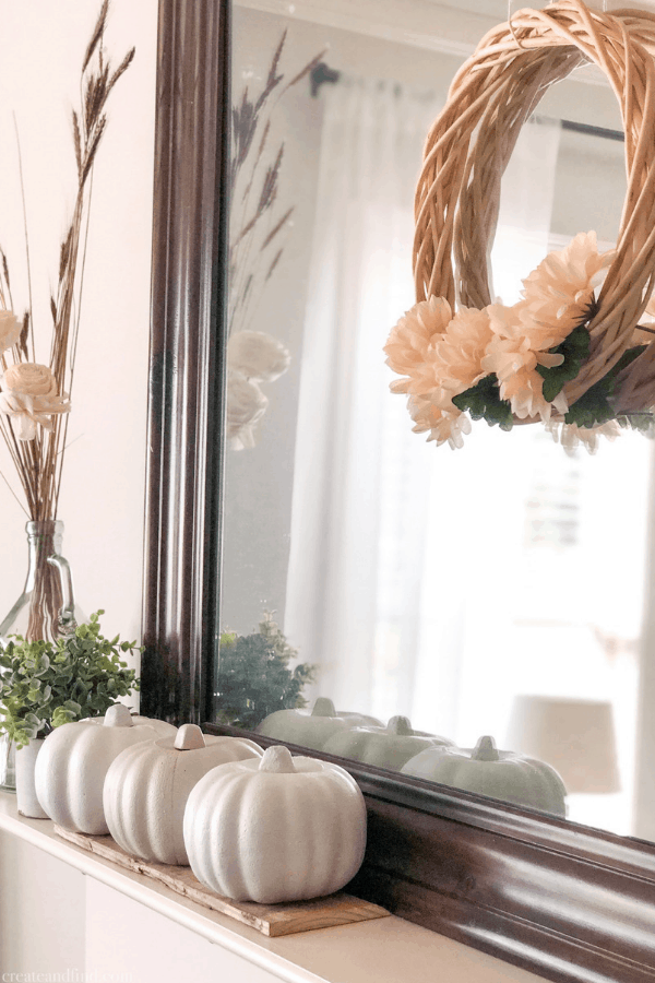 Easy and cheap $3 DIY Fall wreath