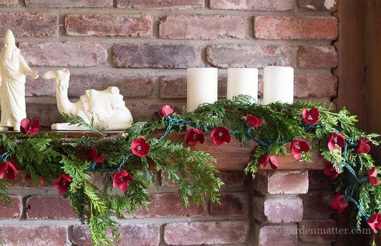 DIY Christmas Garland