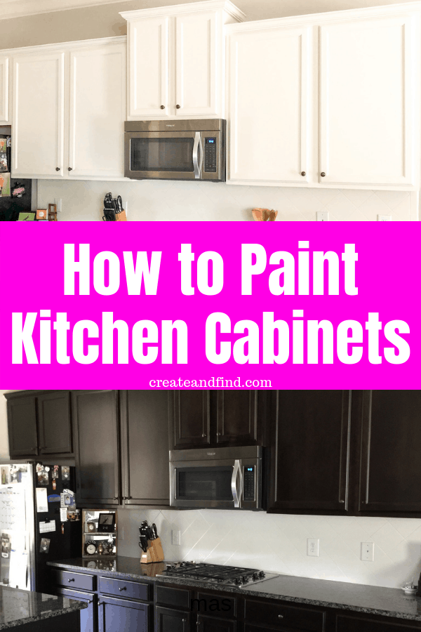 Detailed tutorial for how to paint cabinets