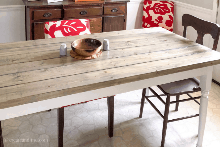 Easy Diy Farmhouse Table How To Build Your Own