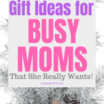 Christmas Gift Ideas for Busy Moms - get her something she really wants this year! #createandfind #christmasgiftideas #christmasgiftsformom #christmas