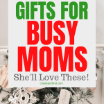 Gift Ideas for Busy Moms that they'll love this year! Gifts that'll make life easier and that she'll enjoy! #createandfind #giftideasformom #christmasgiftsformom #christmasgifts #christmas