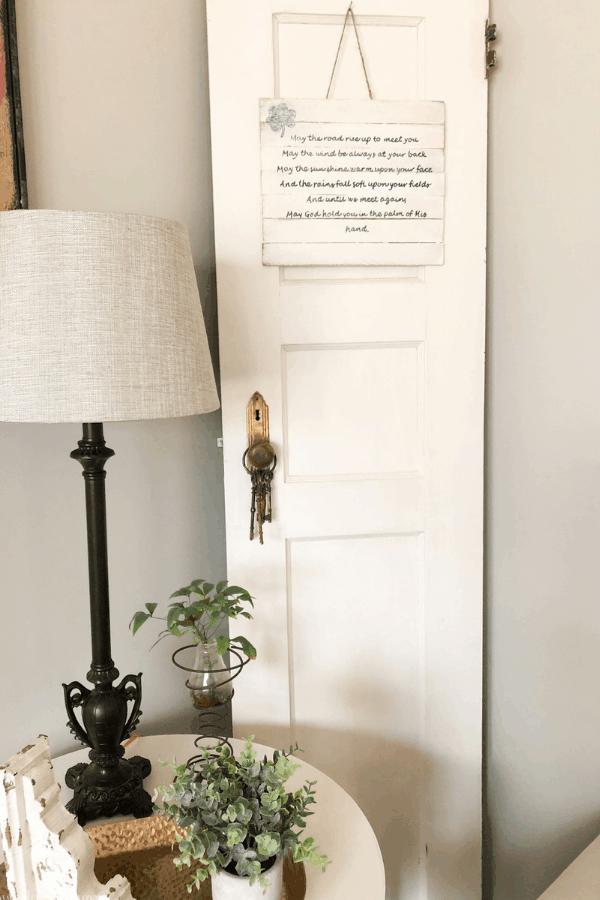 DIY Irish Blessing Sign