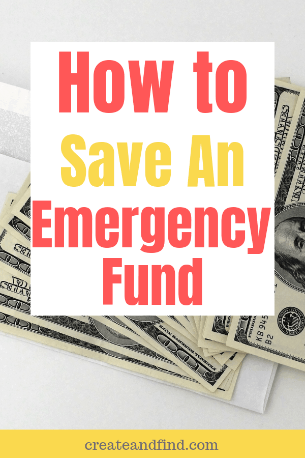 Fundamental steps you need to save an emergency fund - get your finances under control! #howtosavemoney #savingmoney #emergencyfund
