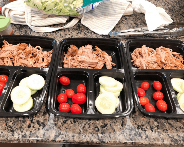 Instant Pot Pork Tenderloin for meal prep