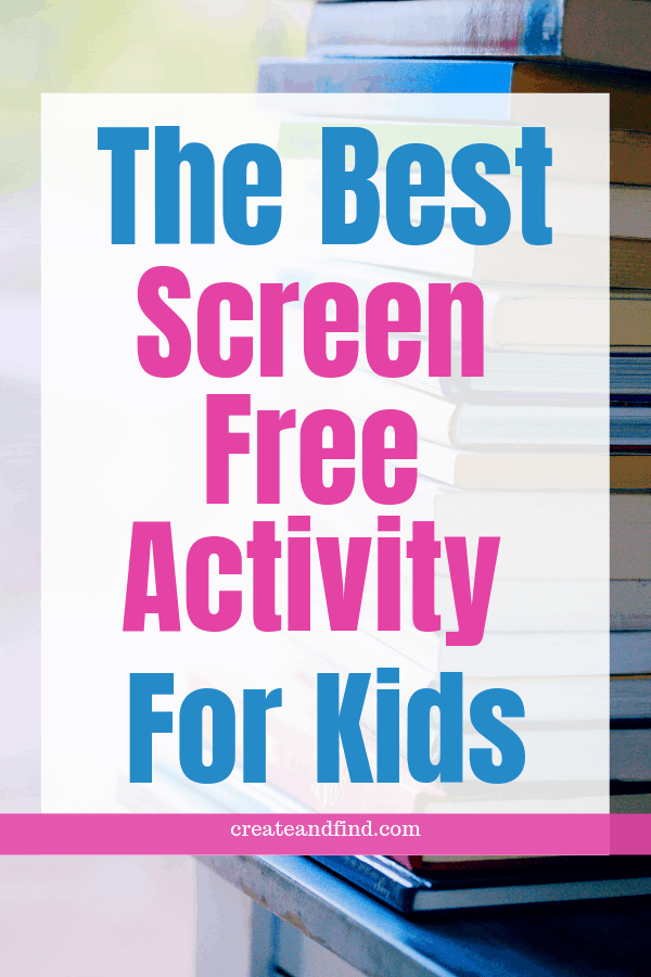 The best screen free activity to do with kids.