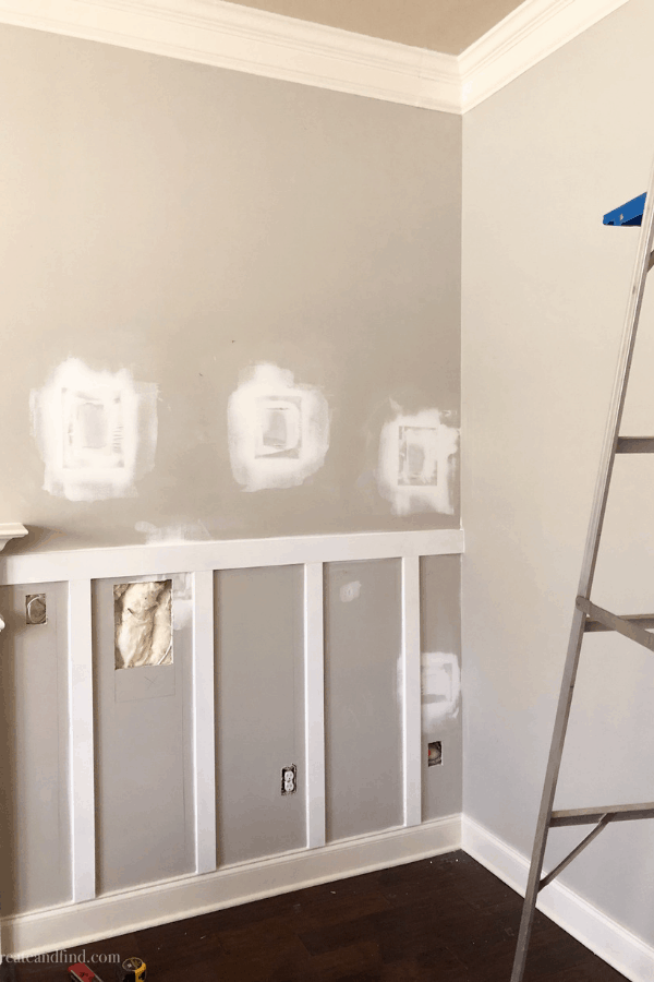 diy board and batten accent wall planning