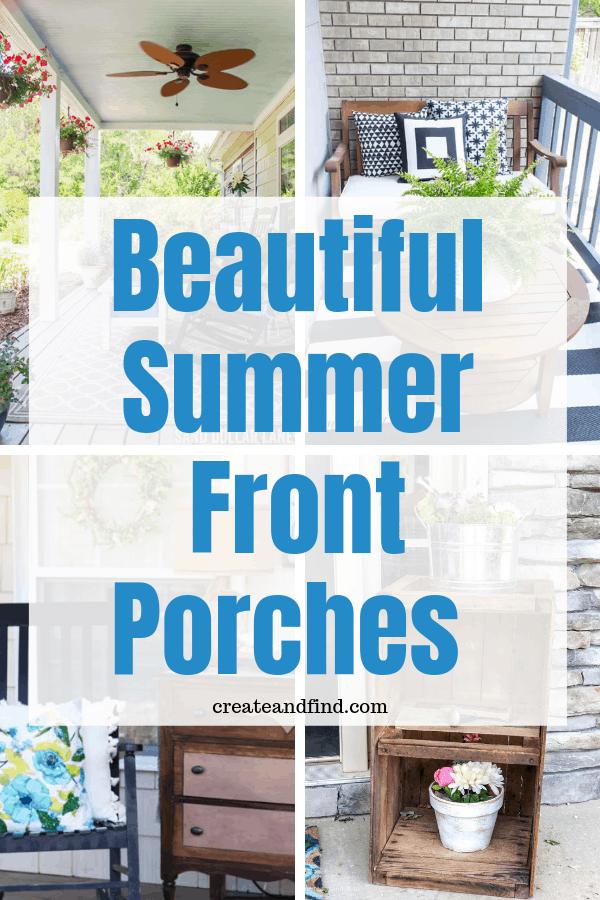 Summer front porch ideas
