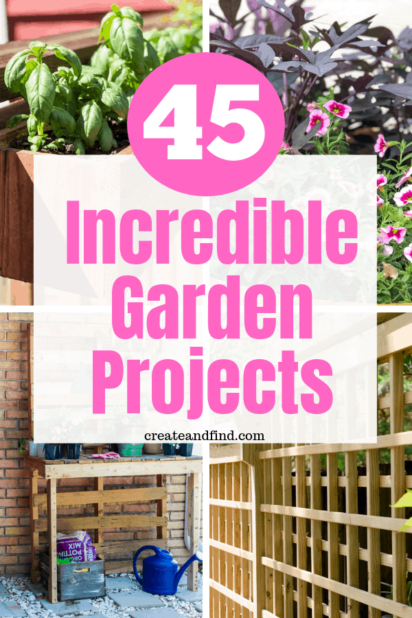 45 incredible garden projects