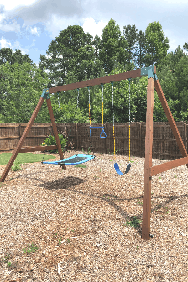 DIY Swing Set for Kids