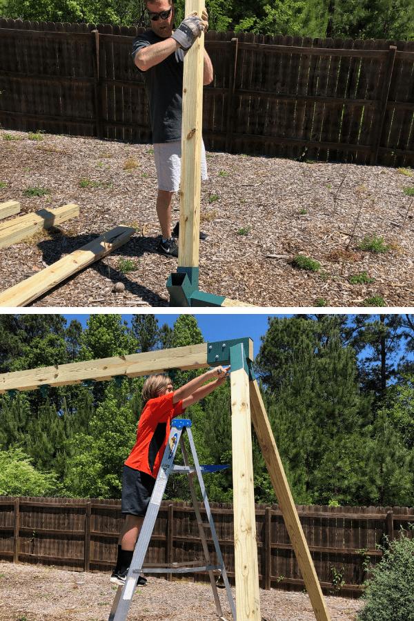 Building a DIY Swing Set