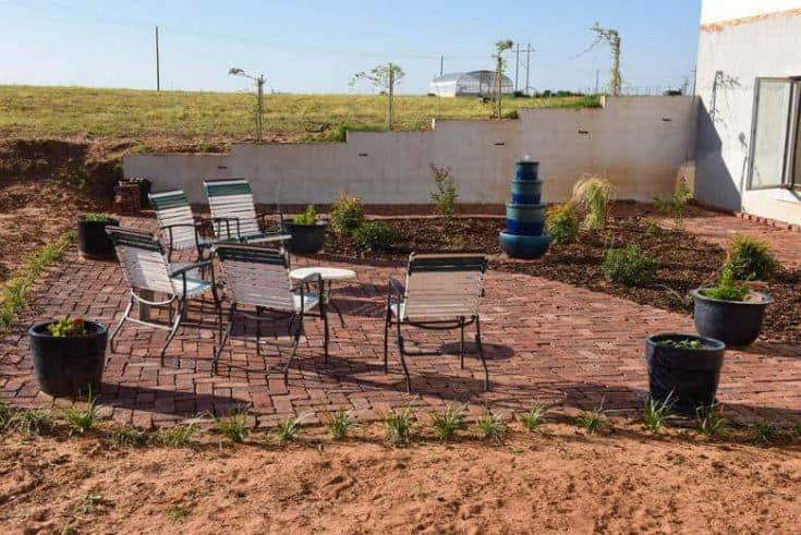 DIY Brick Patio - How to Make Your Own!