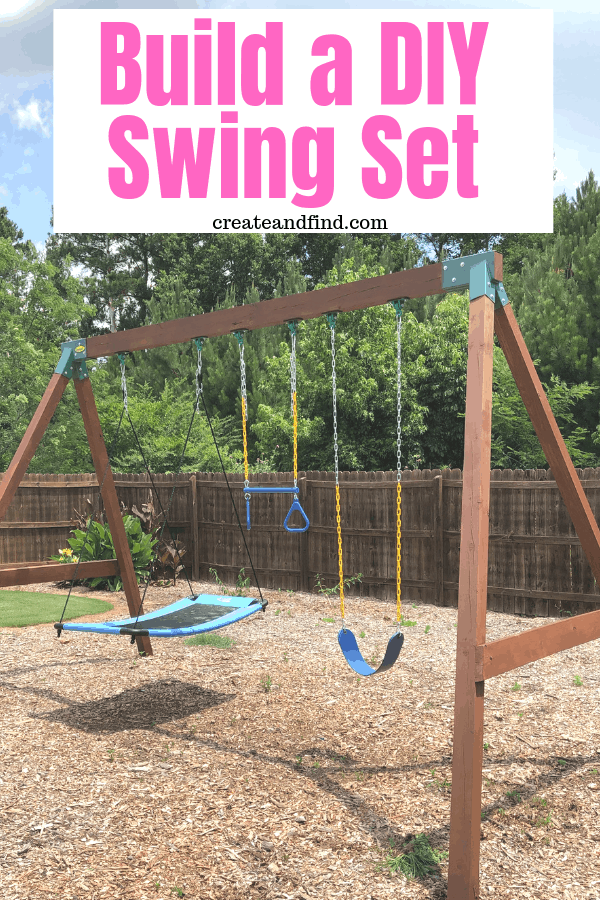 how to build a diy swing set