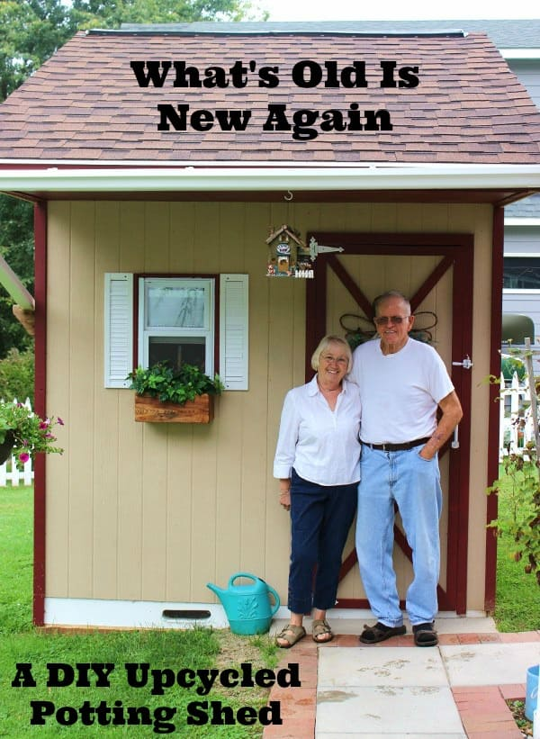 What's Old Is New Again - A DIY Upcycled Potting Shed
