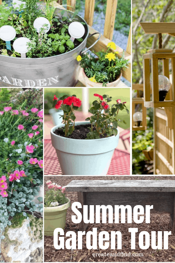 Summer Garden Tour and Decorative Planters