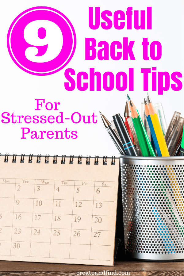 9 useful back to school tips