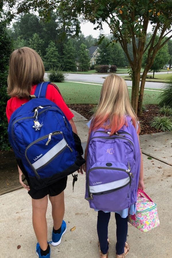 Back to school tips - quality backpacks