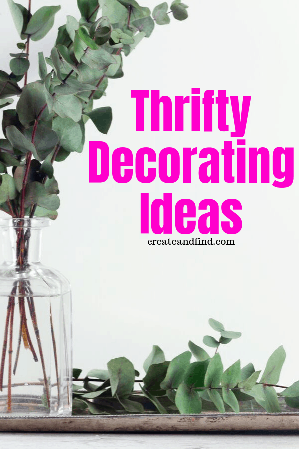 thrifty decorating ideas