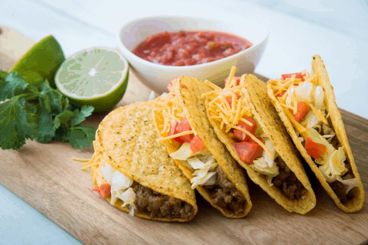 Frugal meal plans - tacos