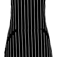 Adjustable Bib Apron with Pockets - Extra Long Ties, Commercial Grade, Unisex