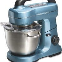 Hamilton Beach Electric Stand Mixer, 4 Quarts, 7 Speeds with attachments