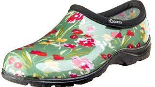 Sloggers 5119FCGN07 Wo's, Fresh Cut Green Waterproof Comfort Shoe