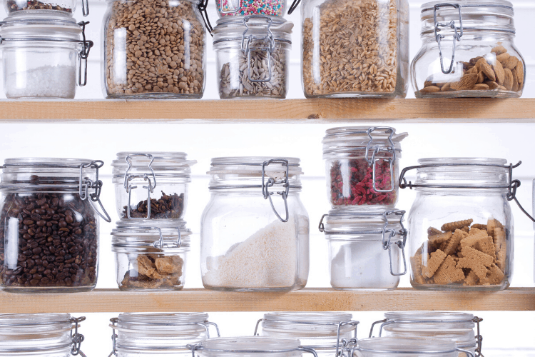meal planning on a budget - shop your pantry
