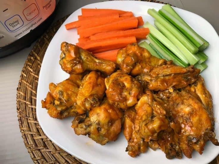 Easy Hot Wings Recipe - Instant Pot Buffalo Wings