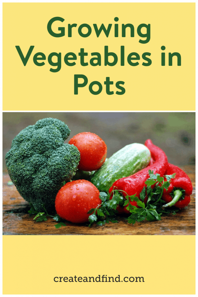 vegetables to grow in pots