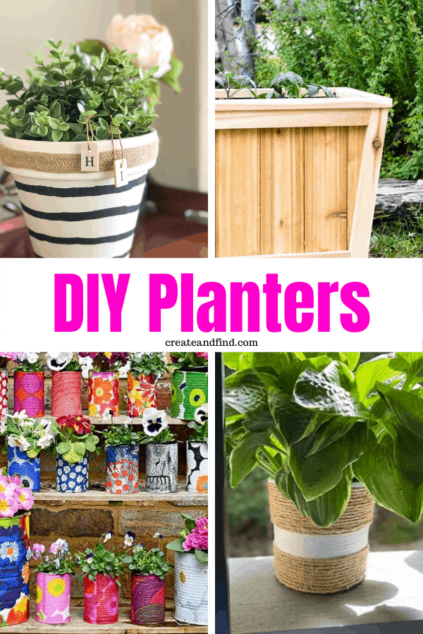 DIY Planters - how to make your own