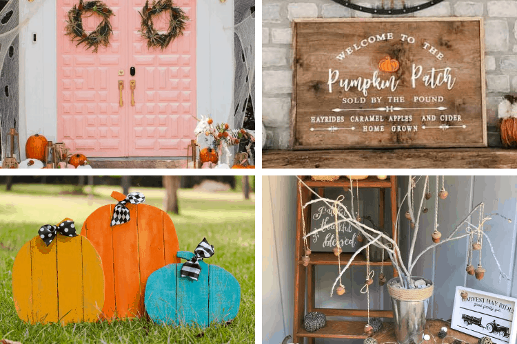 diy fall front porch decor ideas