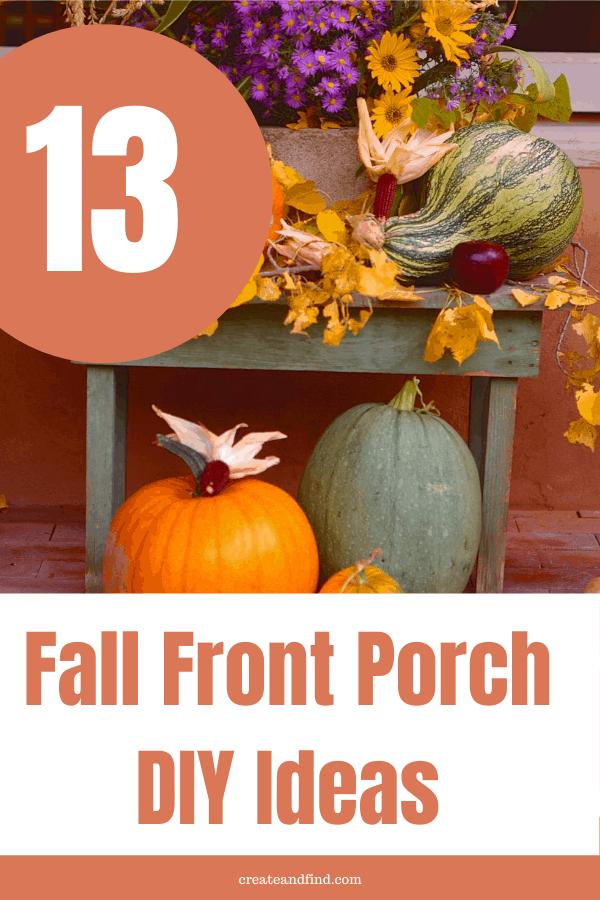 13 fall porch decorating ideas
