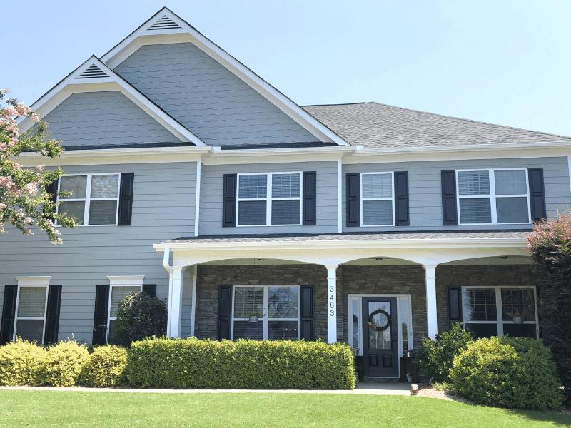 Exterior House Sherwin Williams Ellie Gray