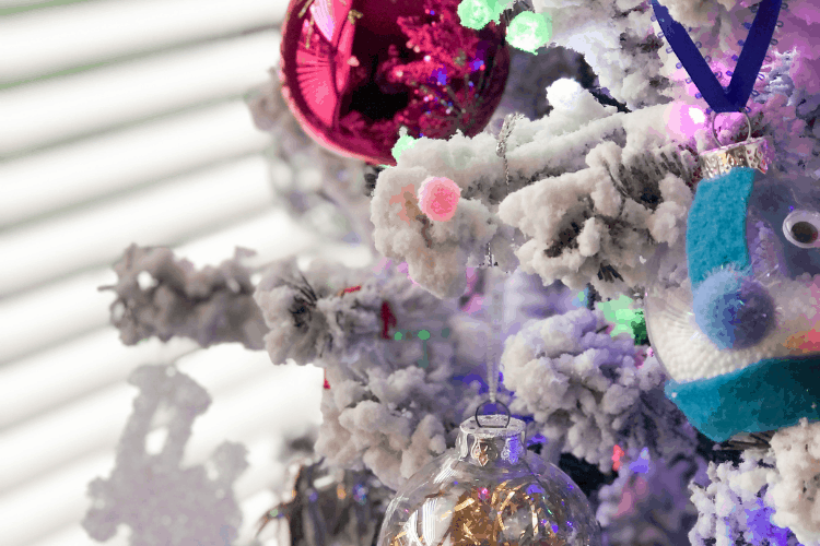 A Flocked Christmas Tree You'll Love!