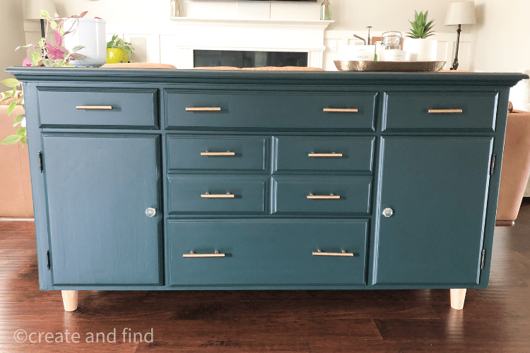 traditional sideboard makeover